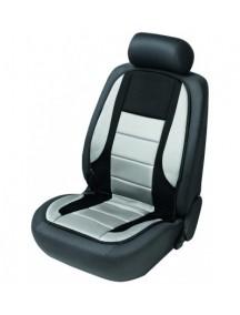 Walser autopoťah sedadla vyhrievaný čierno-šedý