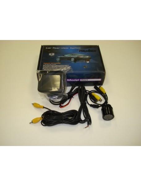 Parkovací systém s kamerou a farebným TFT displejom