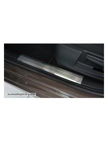 Nerezové kryty prahov Škoda OCTAVIA III -- od roku výroby 2013-
