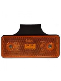 Obrysové svietidlo oranžové 2xLED lamp 12/24V