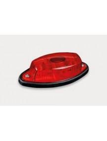 Obrysové-pozičné svetlo červené s káblom 2x0,75 mm