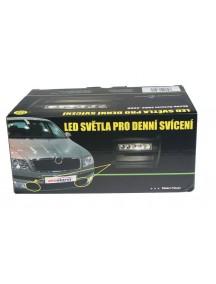 Svetlá s LED Škoda Octavia 2004-08, automat. denné, homologovanéace