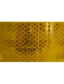 3m reflexná samolepka oranžová 5,5 cm x 50 m, homologácia