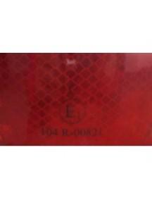 3m reflexná samolepka červená 5,5 cm x 50 m, homologácia